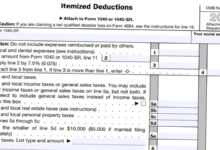 2020 - 2021 Schedule A Itemized Deductions