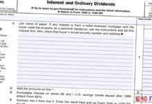 2020 - 2021 Schedule B Interest and Ordinary Dividends